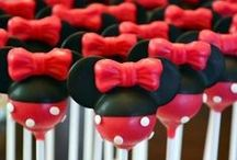 Mickey/Minnie Mouse Birthday Party Theme- 1st Birthday / by NYC Antique Mom