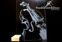 Handgravedglass by Iulian Sima