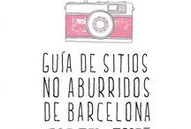 Barcelona,,, the BEST city in the world!!! / Per gaudir a Barcelona