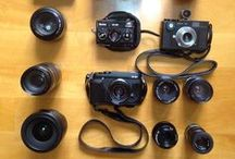 My Cameras / I own (or owned) these cameras. Lucky me.