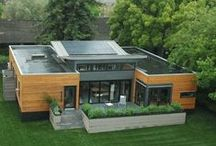 Shipping Container Homes / Beautiful Shipping Container Homes for the DIY or Pro Home-builder that's looking for something different to try.  / by Freecycle *Recycle Life*