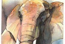Animals//Giraffe-Elephant-Rhino-Hippo