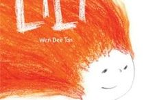 Lili by Wen Dee Tan / Lili is an ordinary little girl. Well except for one thing, she has fiery red hair. Lili finds it hard to make friends with her fiery red hair, but one day, Lili finds the village children lost in the deep dark woods and her bravery (and hair) leads them all home safely. Lili is a beautiful story of overcoming rejection and being accepted for who you are – something that will resonate with children and adults everywhere