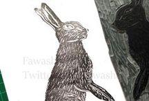 Linocut / printmaking