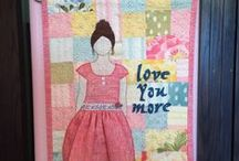 My Creations / Wall hangings and quilts done by me.