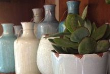Interieur accesoires / Leuke vazen en plantjes voor een trendy interieur