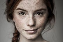 Freckles / For the love of freckled faces...