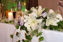 Dekoracje weselne/ Weeding decorations / Dekoracje weselne- kwiaty, stoły, zastawa w Hotelu Lenart Weeding decorations- flowers, tables, cutlery in Hotel Lenart