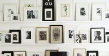 STYLE // MOODBOARD WALL / Inspirations and my own projects in MOODBOARD WALL interior design and styling theme.