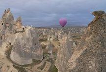 Cappadocia, Turkey / Fairy chimney towns in Cappadocia, Turkey.