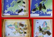 Montessori Geography & Culture / by Natalie Carver