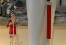 Christmas Creations by Chora Art Home Design / Hand made items by Kelly Vorrea for Chora Art Home Design