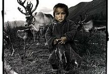 Tsaatan / The Tsaatan of Mongolia are often called the reindeer people. As a nomadic tribe their very existence is threatened by dwindling numbers of their life source - the reindeer. They have turned to tourism to attempt to survive.