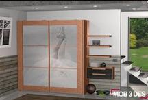 Armarios personalizados / Cualquier idea o imagen se puede incorporar el diseño de armarios.