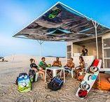 Coaching / Apprendre la glisse avec des coachs et partager vos impression autour d'une bière au coucher du soleil ! http://www.fun-and-fly.com/fr/windsurf/coachings/