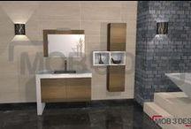 Diseños para baños / Diferentes propuestas para baños.