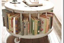 Bookshelves / Real Nooks for My Books / by Stella Winston