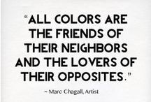 Colour Quotes / Add colour to your life!