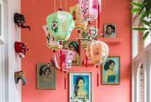 Inspiration - Bold colours for the home