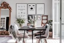 Scandinavian Inspired Interiors / Interiors inspiration from Scandinavia. Think minimalism, monochrome and muted colours, natural materials and textures, such as wicker, sheepskin and wood. Scandi style is a classic interior trend and shows no sign of losing its popularity.