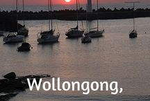 Wonderful Wollongong / Wollongong is located 80kms from Sydney. It is located between the mountains and the sea, and is known for its beauty and diversity