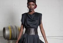 Florence Dress / An exquisite dress with an amazing almost circular flowing skirt and a draped bodice, cinched in at the waist with leather. It has a luxurious sheen, but isn't shiny.  Made from 100% GOTS certified organic bamboo unbleached and japanese plonge leather