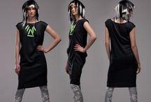 Kai T-Shirt / Long, non stretchy bamboo silk unisex T-Shirt/Dress cut in a waste minimising design.  Contents: 100% GOTS certified organic bamboo