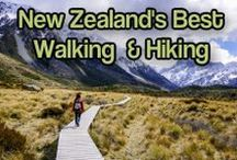 New Zealand Walking Tracks & Trails / New Zealand is full of breathtakingly beautiful scenery. Here's everything you need to know about walking and hiking in New Zealand.