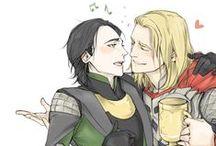 Thorki / Thor Odinson + Loki Laufeyson