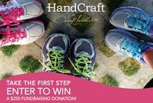 Take the First Step / HandCraft cares! We support important causes with financial and in-kind contributions and have raised over $254,000 since 2012 to support breast cancer research, prevention & awareness. Get involved! Enter to win $250 towards your charitable event! http://bit.ly/handcraftfirststep! Share your charity walk/run photos on Facebook and we'll feature them on this board. (2015 sweepstakes ends November 20!)