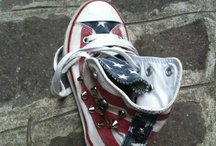 All Star for you / My latest creation. I love decorating All Star, these are for baby. Contact me!!
