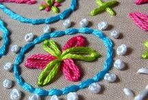~ cross stitch, embroidery  and happy hands ~