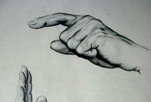 DRAWING V: HANDS, FEET
