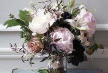 Blooms & Bouquets / Flower arrangement and bouquets straight from the garden.  These are the pretty flower displays we love.