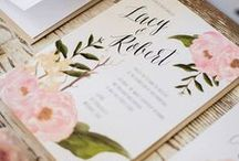 Stationery & Invites / A good event starts of with a perfect invitation card. Here are some inspirations that you can take on for your next party!