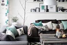 Grey sofa decor ideas