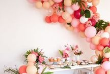 Cute and Colorful Party Decoration Ideas / Your guests will surely be shocked when they see that your decorations are off the hook!