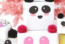 •All•About•Pandas• / • Inspirações • Itens • Panda • Inspiração • DIY • Party • Decor •