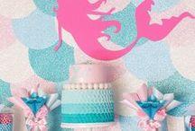 •All•About•Mermaids• / • Sereias • Ariel • Mermaids • • Inspiração • DIY • Party • Decor •