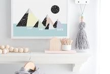 Personalized Nursery Decor Pieces / Your baby deserves the best, well not just with their stuff but also with the decors in the their room! The more colorful, the more your baby will have more things to look at :D