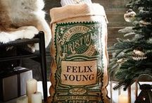 Personalized Christmas Santa Sacks / Gorgeous Personalized Santa Sacks the whole family is sure to love. They make the perfect Christmas Gift for the whole family