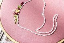 •Bordado•Embroidery• / • Bordado • Embroidery • Bastidor • Tutorial • Inspiração • Como Fazer • Inspiration •