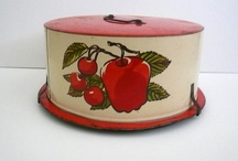 Vintage Cake Carriers