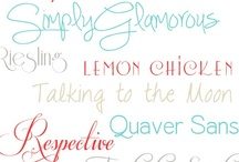 Lettertjes / Leuke lettertype's
