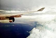 vliegtuig en emigratie avontuur... / vliegen rennen vallen en opstaan...