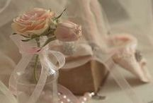 PINK,LACE,ROSES AND PEARLS
