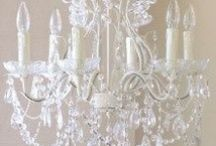 CANDLES,LANTERNS AND CHANDELIERS
