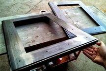 custom steel picture frames custom steel frames and shadowboxes to display art keepsakes or custom metal hardware