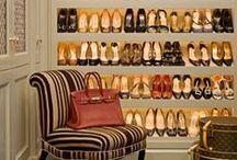 Scarpiere / Idee e spunti per crearsi la propria scarpiera a casa o in camera da letto.