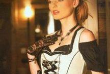 * DIRNDL & TRACHTEN * (Modern) / ModernTraditional Costumes worn mainly in Austria, Germany, (especially Bavaria) Switzerland, Liechtenstein & South Tyrol. / by *~*Amanda Latuske*~*